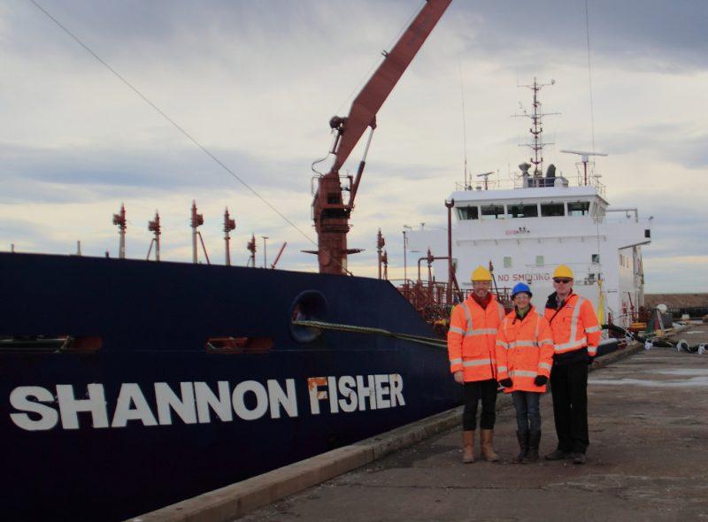 First vessel visits Port of Blyth marine fuel facility