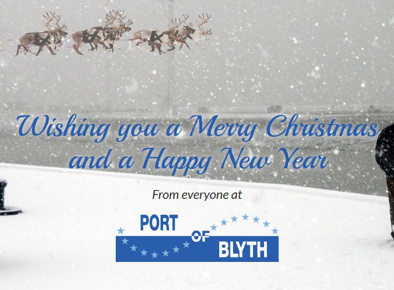 Merry Christmas from the Port of Blyth