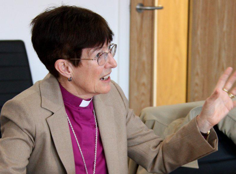 Bishop of Newcastle visits Port of Blyth