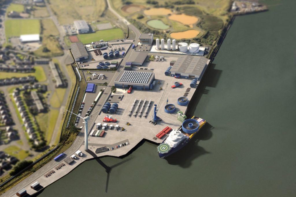 Port of Blyth Bates Clean Energy Terminal