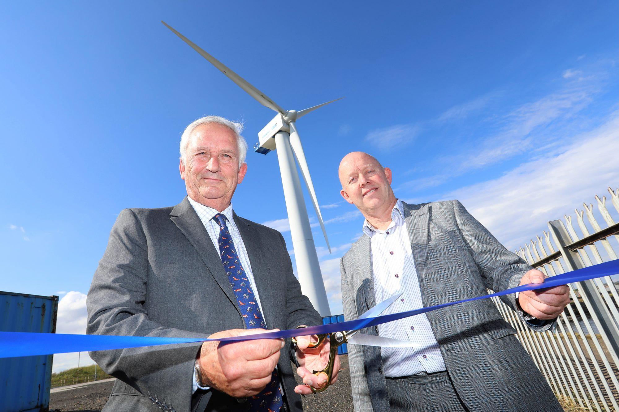Wind Turbine Training Facility opening